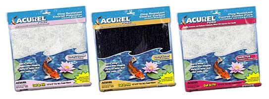 Acurel Coarse Pond Media Filter Pad Group